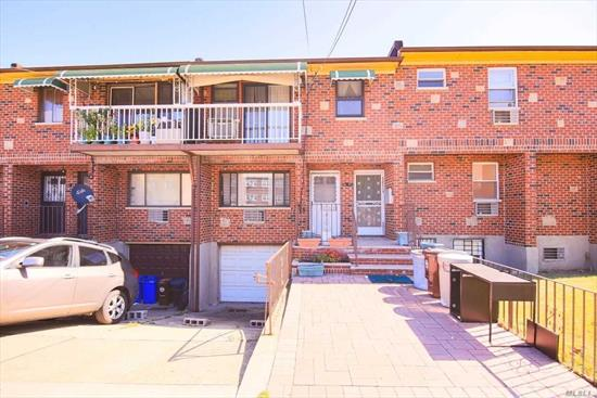 Young 3 Family Brick In Prime Location Of Fresh Meadows. Investors... 5% Cap Rate! Building Size 20x59. Offers 3 Bedroom & 2 Full Bath On 2nd Floor. 1 Unit of 1 Bedroom/1 Bath/1 Kitchen & 1 Unit Of Studio/Bath/Kitchen On 1st Floor. Walk-In With Separate Entrance On Level Floor. 2 Driveway & 1 Grage. Zoned In #26 School District (PS 173, JHS216, & Francis Lewis HS). Just Steps Away From Q17, Q88, Q64, Q65, QM44, QM4 Bus To Main Street/Flushing, Queens Mall & Manhattan. Must see! Won't Last!