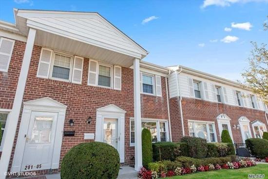Beautifully Maintained Condo Located In Valley Stream Featuring Hardwood Floors, CAC, Gas Heat, Eik W/Corian Counter Top, Tiled Back Splash & SS Appls, Formal Dining Room, Living Room, Master Bedroom, 2 Bedrooms, 1.5 Baths, Full Finished Basement W/Large Entertaining Area Perfect For Entertaining, WIC, Laundry & Utility Room, 1 Parking Spot, Patio, Close To Schools, Shopping, Restaurants & Transportation. A Must See !