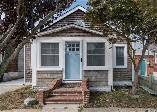 A Gem in the middle of this Desirable Neighborhood, this Completely Renovated - 2 Bedroom, Gorgeous Bath, Stunning EIK and Dining Room is a Must See. A New Front door and French Sliders, leading to a cozy yard with outdoor shower, New Heating System and CAC. New windows and roof, too much to list.