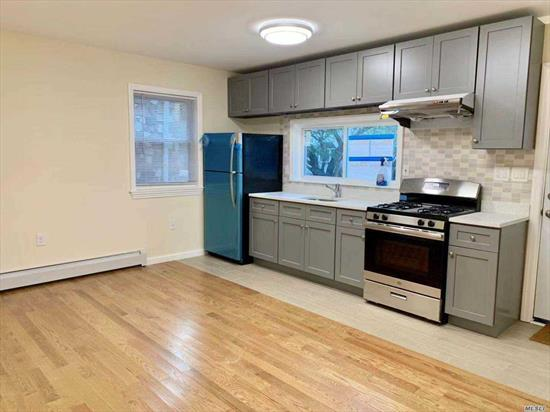 Newly Renovated 1Fl and Basement. Beautiful 3 Bedrooms 3 Full Baths Open Kitchen with Dinning room .Closed to St. John's University and Queens College . Near Transportation Q65 Q46 Qm1 Qm5 Qm6 Qm7 Qm8 Qm35 Qm36. Close to Union Turnpike and 164th St.