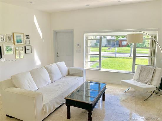 Beautifully Just Remodeled 2Bd/1Ba. Mid-Century Style House In The Heart Of South Miami. Enjoy This Charming Home Equipped With Open Great Room Featuring Chef'S Kitchen, Dining & Living Room, Fully Tiled And Great Backyard With Covered Terrace & Built-In Storage Shed. Quiet And Quaint Neighborhood Centrally Located Close To Schools, Shopping, Restaurants & Parks.
