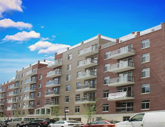 Brand New Construction Luxury Condominium, It Is Flawlessly Designed With The Highest Construction Materials. 1 BEDROOMS WITH 1 BATHROOMS WITH BALCONY, Door Man, Gym, Washer And Dryer, Storage Room, Garage Parking, Security Video Intercom, Super Convenient Location, Near Shopping And Restaurant, Only 4 Blocks Away From M & R Subway Train And Is Walking Distance Of Shopping Centers, 20 Mins To Manhattan.