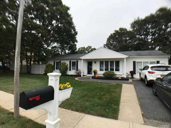 Meticulously Maintained Expanded Ranch w/ Permitted Garage Conversion, New Tile Floors Throughout, Turn Key, Mint and Ready For All Offers! Entertainers Back Yard on Quiet Block, Close to Expressway! Don't Miss This Opportunity!