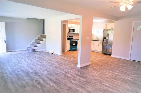 Newly fully Renovated inside and out Colonial! 4BR, 2 BATHs, Totally NEW Kitchen 2 NEW BATHS, NEW Roof, Siding, Driveway, Boiler. 2 Electric meters. M/D with proper permits! Great Opportunity to make this your home! Entertaining all offers!!
