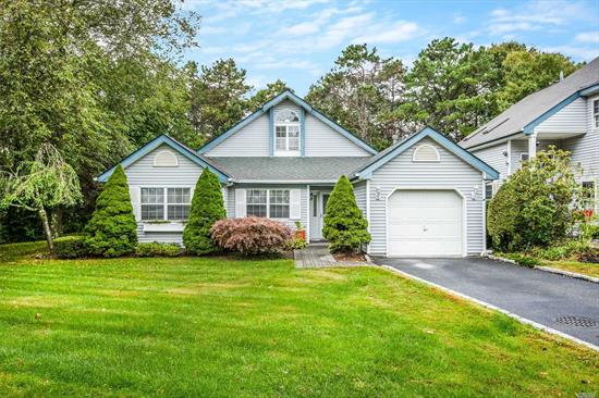 Come See This Detached Shady Grove Ranch in Desirable Strathmore On The Greens. Set in a Prime Location This Home Offers Open Floor Plan, Great Room With Soaring Vaulted Ceiling's, Updated Eat-In-Kitchen, Formal Dining Room, Master Suite & Private Back Yard with Deck. Community Amenities Include 24 Hour Gate Security, Swimming Pool, Playgrounds, Basketball and Tennis Courts.