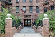 Rego Park. Fabulous and Spacious Top Floor Unit with Views of NYC! Beautiful Entry with Marble Floors, Large Bedroom Uniquely Cornered with Two Sets of Windows, Updated Kitchen and Bathroom, Low Maintenance, Freshly Painted with Refinishes Floors!!