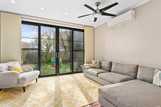 Welcome home to this stunning and sun drenched multiple level single family house. Located on a charming Astoria block, and within close proximity to the M/R trains, this residence has been beautifully constructed with a combination of modern design elements along with charming details such as exposed brick. The photos speak for themselves.