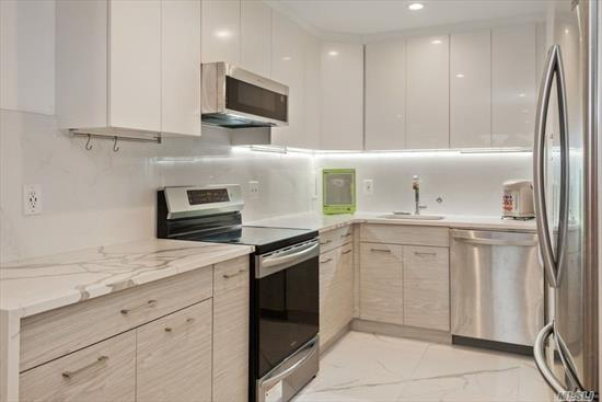 Top Floor Home With Wall Of Oversized Windows. Brand New Modern Renovation Recently Completed. Too Many Designer And Custom Finishes To List In Kitchen And Bathroom. Recessed Lighting Throughout Living Spaces And Under Cabinet Lighting In Kitchen. Enclosed Glass Terrace. Le Havre Amenities Include 2 Outdoor Pools, 3 Tennis Courts, A Fitness Center, Clubhouse And Restaurant. No Dogs Allowed.