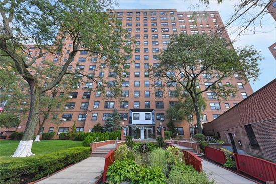 Fully Gut Renovated Alcove Studio Converted to a Small 1 Bedroom features a well-proportioned layout with excellent closet space. A renovated Kitchen with stainless steel appliances and granite counter tops, renovated kitchen and walk in closet. New wood floors. Gym $20/mo, garage indoor/outdoor $198/$155 per mo, no sublet, 24 hr doorman & security patrol. The maintenance includes all utilities. Near subway, shops and major highways.