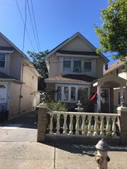 Fully Renovated Detached One Family House! Great Location! South Ozone Park.Has Three Huge Bedrooms, Two Full Bathrooms , Full Finished Basement, Private Drive way that sits on 25 x 100 Lot and More! Don't Miss This Opportunity!