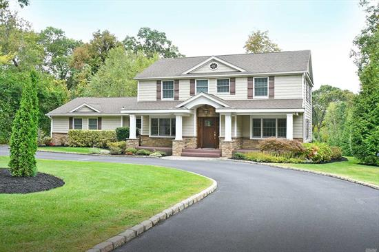 The curb appeal is just the beginning!Impressive expanded & renovated colonial in sought after Strathmore Pool & Tennis Community.Classic elegance featuring rich wood floors, custom millwork, gracious open layout & high end finishes throughout.This warm & inviting home boasts top of the line kitchen, well equipped butler's pantry, built in wet bar in dining room & walk in pantry.Lush property offers gorgeous paver patio, fire pit & lots of room to play.Sewers/gas.Smart house tech.Must see!HHHEast
