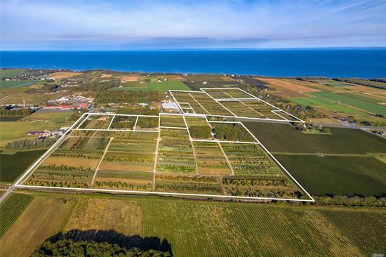 An Established Nursery - Supplying Professionals And Homeowners For Over 35 Years. 118 Acres encompassing both sides of County Rt 48 AKA Sound Ave. Sale Includes All Inventory, Nursery Stock, Materials, Equipment And 3 Building Lots. This Is An Incredible Opportunity, To Own An Established Enterprise, On Prime Land In A Killer Location. Serious Inquiries Only.