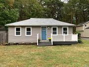 Absolutely beautiful- all new- Quaint 3 bedroom, with full finished basement with OSE- separate oversized garage. Low Low taxes- , start-up, or downsizing-