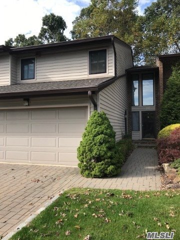 Charming and cozy Brookville Model features 3 Bedrooms, 2.5 Baths (MastrSuite w/new Bth (6yrs) Xlarge shwr, double sink vanity, a wall of closets), 2 BedRms w/large closets & built-ins, new Main Bath w/skylite, New Powder Rm(1.5 yrs.); On 1st Fl., updated Country Eat-in-Kitchen w/Granite counters, Wood Cabinetry & Centre Isle w/plenty of storage, SS Appliances, new sliders off of LR/Den to private deck for outdoor enjoyment; 2-car garage, Just Move in; Seaman Elem-Jericho SD; A GREAT BUY!