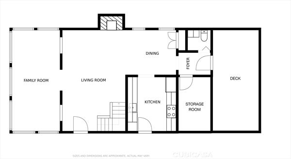 Existing 1st Floor Plan