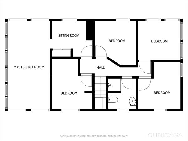 Existing 2nd Floor Plan
