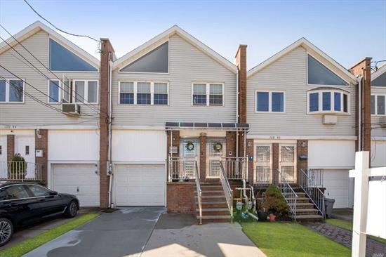 Great Property, Awesome 2 Family nestled in the most desirable part of N. College Pt. Offers great water views, this gem has a 3BR, 2Bath, MBR w/ensuite, with CAC (only top fl) over a 2BR, 1Bath, Kitchen, Grande Open Layout, Closets Galore, Private Fenced in Yard 175 Deep, Great for entertaining and room for a pool! Wood floors throughout, Beautiful finished Bsmt. with separate entrance, 1 Car Garage, Walk to Park, shopping and transportation. Great income generator!