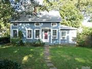 Perfect Location!! Small Family Needed. Restored Oldie in Heart of Village. Close to Shopping, Harbor, Beach, Suny, and Transportation. Enjoy the Village!