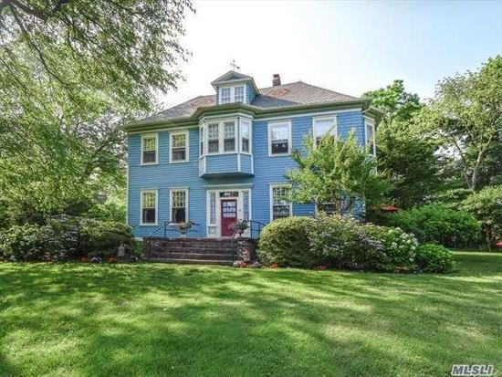 Immaculate 1 BR Duplex Apartment in stately Victorian. Month to Month lease. 1 Bedroom, 2 Baths, Living Room with fireplace, Dining Room, Eat-in-Kitchen,  Private deck and yard, parking. Very private spot!