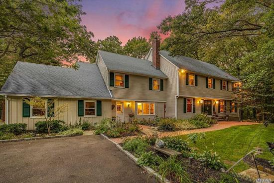 Exquisite Colonial in the heart of Oyster Bay Cove. Masterfully Built & owned by famed Secretariat's Jockey Ron Turcotte, this beautiful estate featuring 6 generous-sized bedrooms was built for entertaining. The home features a Wine Cave for the wine enthusiast, Hot/Cold Sauna, 2.11 lush acres & 3 fireplaces. Situated mid-block in a cul-de-sac, catch beautiful sunsets, and enjoy the masterpiece that is Oyster Bay Cove!! Close to Restaurants, Beaches, Movie Theaters, Schools & more