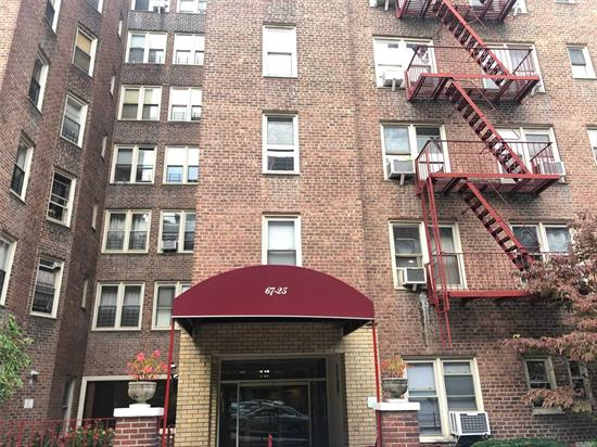 Large 1 Bedroom located in Forest Hills. Maintenance Is Only $753 Per Month with All Utilities Included. Windows in every room. Building Features Laundry on the Ground Floor and On Site Super. Close to All Shops, Restaurants, Local Bus, Express Bus to Manhattan, Subways, and Major Highways.