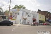 Just outside of NYC, Located in the center of Corona, on a busy street, 3 min to train station. Prime location store front suitable for wholesale warehouse, light industrial use, restaurants, retail store, offices, doctor's office,  or house of worships. Can rent partially or entirely. Nice parking lots in the back of the building can contain 10-12 cars.