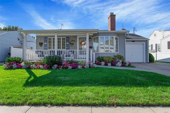 Spacious One Level Cape In Prime Mid Block Location. Meticulously Maintained Home W EIK, Harwood, Gas Cooking, CAC, IGS Parklike Property. 3rd BR is DR, Storage Galore W Fin Basement And Gameroom. A Must See!!