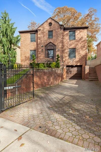 Gorgeous Brick Central Hall Home located in the Heart of Jamaica Estates. This beautiful and well-maintained home features a large size living room, with a wood-burning fireplace. Formal Dining-Room, spacious Eat-in-Kitchen, and a family room. 4 Bedrooms and 3 full bathrooms, a fully finished basement, as well as a 2 car garage. House sits on a 54.25 X 132.25 lot size.