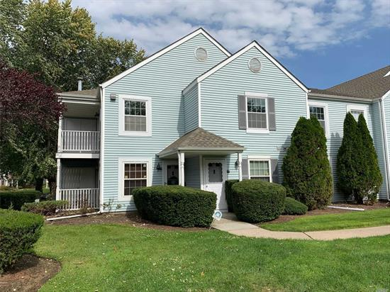 Newly updated kitchen, new carpet and flooring. Freshly Painted. Central Air Control. Updated baths and windows. Dog park, tennis court, and pool on grounds. Taxes shown are before STAR credit.