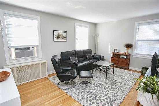 Beautifully Maintained Sunny Upper Floor Apartment. It Offers An Open Layout With Large Living Room And Dinning Room, Large Bedroom, Updated Kitchen and Bath. The Whole Apartment Is InAn Excellent Condition. Current Star Credit is $93.67 Which Must Be Reapplied By The New Buyer To Get The Star Program. A Truly Must See.