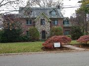 This is a 3500+ sq ft all brick Tudor style home that offers 10 rooms, 5 bedrooms and 3.5 bathrooms located in the heart of Westbury, east of Powells Lane, North West of Brush Hollow Road and South of the Northern State Pkwy. This home is situated on 12, 000 + lot and has 2 car garages, and backyard is private and shrouded in shrubs, several midsize trees and other greeneries and on extremely quiet street. The wood moldings & trims, kitchen cabinets, master bath, could easily be refurbished.