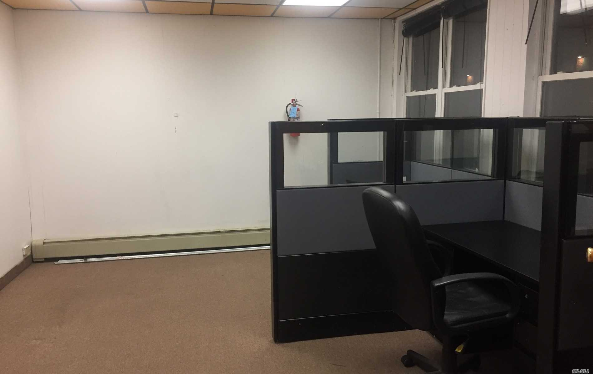 Two private office spaces for lease. Ideal Location just south of Jericho Tpke near to all. Utilities Are Included heat, electric, a/c and parking.