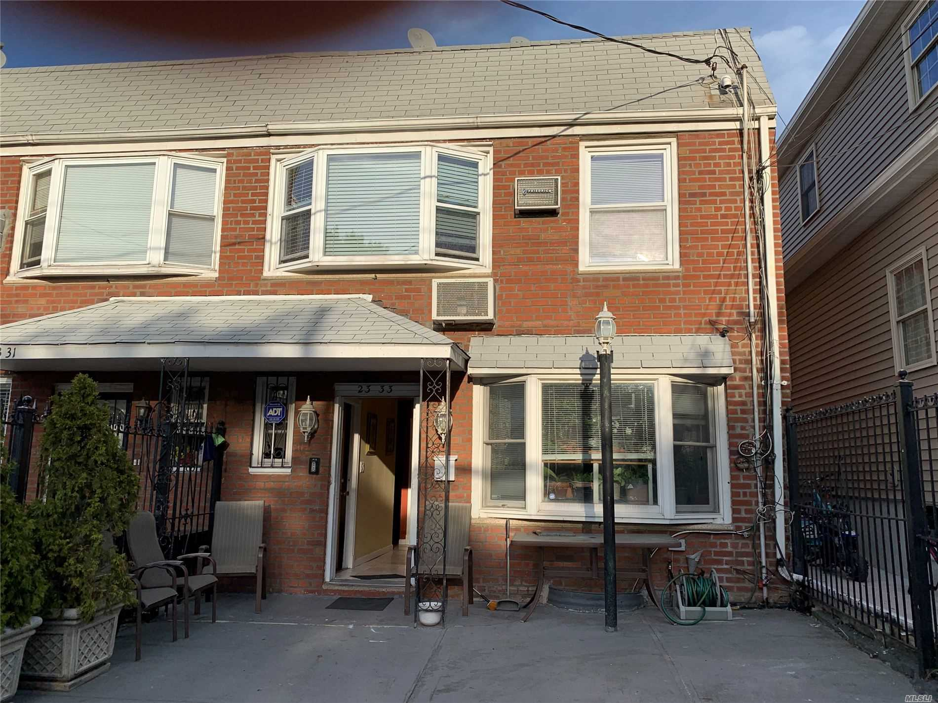 AMAZING BRICK 2 FAMILY HOME/CLOSE TO ALL/2 MINUTES FROM LA GUARDIA AIRPORT/ PRIVATE ACCESS TO ALL LEVELS FROM THE FRONT DOOR AND ALL LEVELS HAVE ACCESS TO BACK YARD PROPERTY RENOVATED AND IN VERY GOOD CONDITIONS