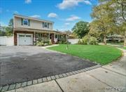 Super Clean Colonial with Wood Floors, F/Basement( Could Add Room for Mom), Andersen Windows, SS Appliances still have Warranty , Newer Garage Door w/ EE, Central Air 1 yr yng, Trex Deck, In Ground Pool, Updated Cesspool, Desirable Gas Heat, Top Hauppauge Schools w/ Forest Brook Elementary, Bathrooms Updated and MORE !