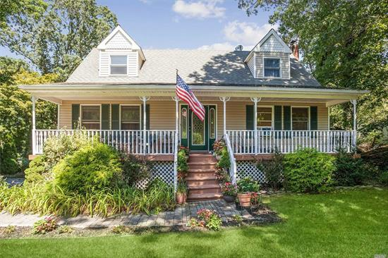 Fantastic young 4 Bedroom Colonial, Eat in kitchen, den with fireplace, basement, 2 car garage! Miller Place Schools and centrally located! Taxes W/STAR $10, 495.7