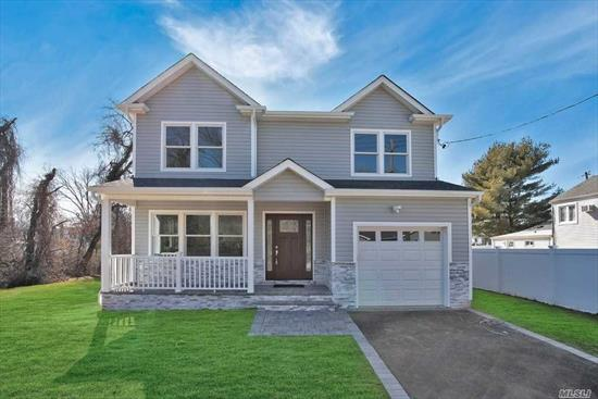 BRAND NEW COLONIAL IN BEAUTIFUL SUNSET CITY AREA!!. House Will Be Finished In December 2019!!. 4 Bedroom, 2.5 Baths, Lr, Dr, Eik, 1 Car Garage, 2 Zone Heating And Central Air, Hardwood Floors Throughout. Custom Designed Kitchen W/ Peninsula And Quartz Countertops, Cac. Lot 80 X 105. Time To Pick Your Own Colors.Taxes Are Not Assessed Until After Home Is Built, Estimates Only.Close To Shopping, Medical Office, Bank, Restaurants And Starbucks!.N. Babylon Schools.Energy Star.This Home Will Not Last!