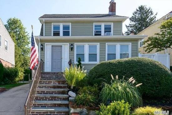 Recently Redone Colonial With Large Rooms Throughout. 3 Bedroom, 2 Bath Colonial In The Desirable Little Neck, Queens Area. Features Eik, Formal Dr, Attic, Full Finished Basement, Laundry Room, 1.5 Car Garage, Lots Of Storage Space. Close To Transportation And Walk To Lirr And Shops!