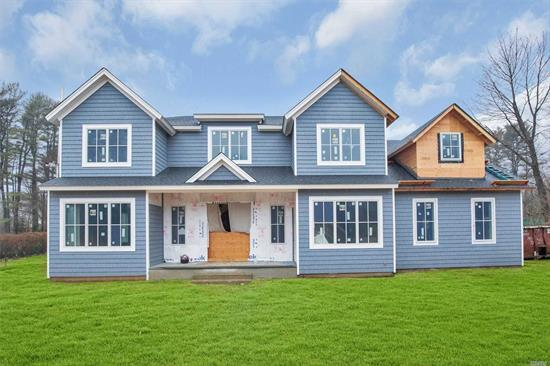 New Construction by renowned Hampton's Builder. Quality throughout. Customize your Dream Home. 4000 sf 2 Story Entry 10 Ft Ceilings first floor 5/6 Bedrooms and Bonus Room with Bath..Act Fast to Customize Fabulous Flat Property in Premier Caledonia North location Floor Plans attached 2020 Taxes estimated $27000