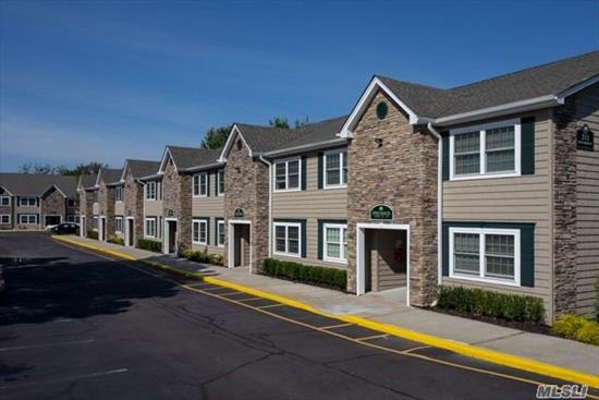 For Those 55 Years Of Age And Older. Brand New Luxury 1 Bedrooms With Private Entry, Modern Kitchen Appliances Including Dishwasher. On-Site Laundry Facility. Clubhouse With Card Tables, Tv And Lounge Area With Party Kitchen. Pet Friendly! Convenient To The Major Highways As Well As The Lirr. Prices/policies subject to change without notice.