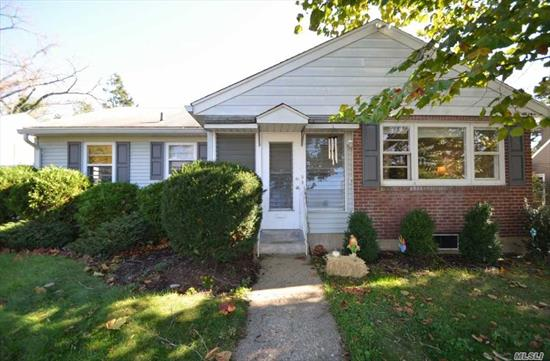 Location! Location! Location! Cozy Ranch! Enclosed Front Porch, Living Room, Formal Dining Room, Eat in Kitchen w/Entry to Yard, 3 Bdrms, Full Bath. Full, Finished Basement w/Washing Machine, Utilities and Lots of Storage. Large Yard. 1 Car Attached Garage.