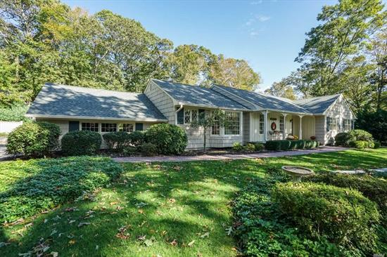 Superbly Maintained Custom Clarendon Ranch with Many Updates. Roof 3 Yrs Old, Newer Marvin Windows, Custom Moldings, Rialto Burner, 2-275 gallon oil tanks, Wired for Generator, New Heat Pump for Pool. Hot Tub is a Gift. This Home Sparkles...Quality Throughout. JUST MOVE IN!
