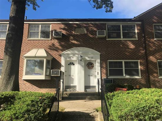 Move right into this spacious Deepdale Garden Home. Features include a inviting living room, spacious dining room, large bedroom, full bath, kitchen with washer and dryer and full attic with lots of storage space. Maintenance includes all utilities. Conveniently located to shopping and transportation!