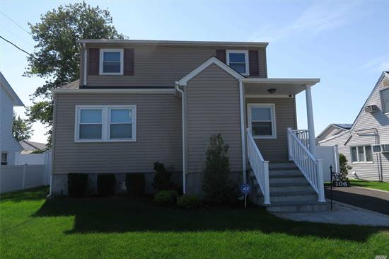 Like Brand New Construction; Bright And Airy, Mint Move In Condition; Everything Updated Within The Last Year: Granite And Stainless Kitchen, Access To Town Beach; Boat Launch, Massapequa SD, Fairfield Elementary, Fully Fenced Yard