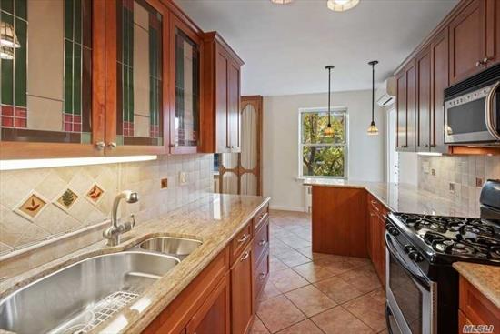 Magnificent Water Views From Terrace. Vacant High Floor 2BR, 1.5BTH With Split System HVAC. Updated Kitchen With Wood Cabinetry, Artisan Glass Designs, Granite Counter-Tops With Breakfast Bar And Stainless Steel Appliances. Well Maintained Wood Floors Throughout. Closets Galore. Add TLC And Your Personal Touch To Make This Home Your Own. Amenities Include: Doorman, Outdoor Pool, Fishing Dock, Playground And More!