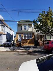 Detached 1 family. 3 bedrooms, full bath. Full unfinished basement. Nice backyard with a shed.