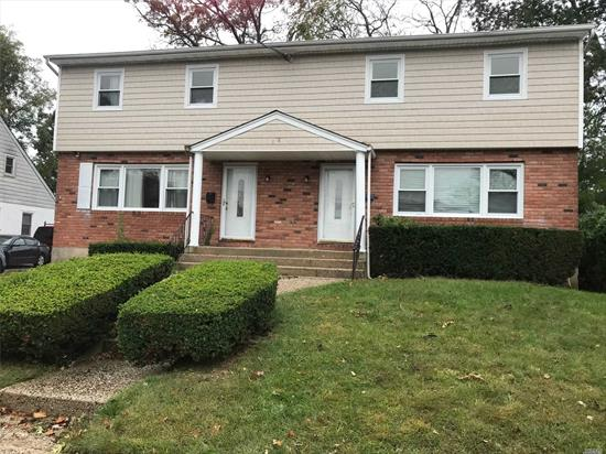 Beautiful Whole House Located In Rockville Centre Huge spacious Rooms New Appliances 3 Floors Back Deck with patio door for backyard use.