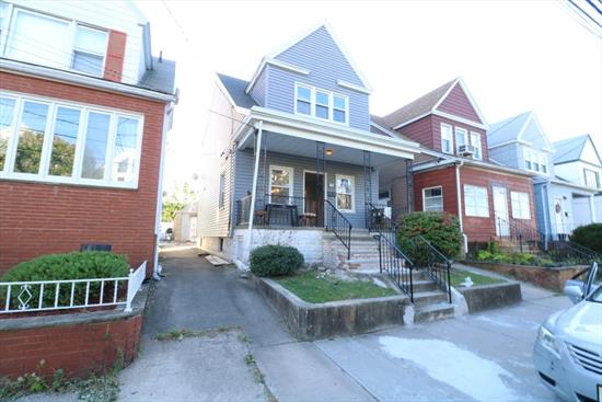 OPEN HOUSE Saturday Nov. 23rd between 1:00- 3:00 pm In move in condition one family home great start for first time home buyer. nice quite block, yet near schools, parks and train to new York city.