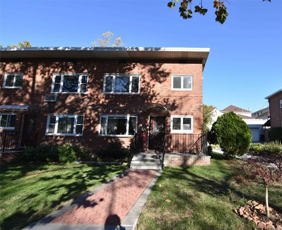 Beautiful Large 2 Brs In Bayside, Completely Renovated! New Kitchen, New Bath, New Appliances, New Floor. Walk To Alley Park, Top School District #26. Close To Springfield Blvd, Bus Q27, Major Highway and All!