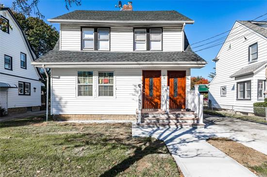 This Fully Renovated Cozy 2 Bedroom 1 Bath Unit Is On The 2nd Floor Of A Beautiful Colonial In The Heart Of Lynbrook. Full Walk-up Attic Available For Tenants Use As Storage