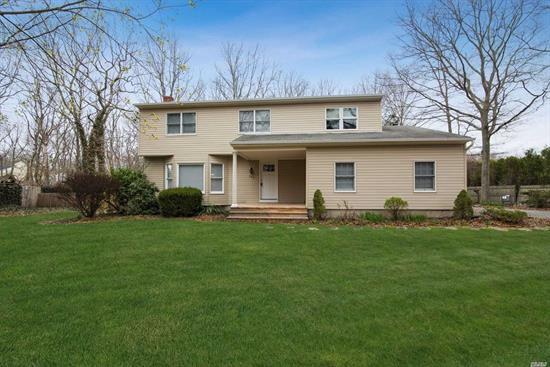 Large Colonial With A Formal Dining Room And A Beautiful Den With Fireplace For Entertaining! Master Bedroom With Master Bath, And 3 Additional Roomy Bedrooms. Plenty Of Storage In The Full Basement. Come See The Recent Renovations Throughout, Not To Mention The Large Lot. This One Won't Last!!